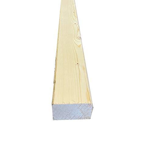 KVH Konstruktionsvollholz 17,50€/m 80x100mm Balken Latte gehobelt Kreuzrahmen Hobelware (80x100mm 199cm)