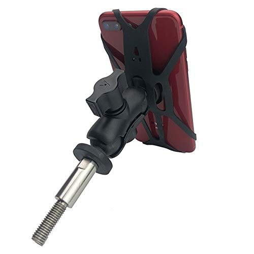 MPWPQ Marco de Accesorios de la Motocicleta GPS móvil Monte de teléfono Soporte for BMW R1200 RT / R1200RT LC / R1250 RT / K1600 GT / K1600 GTL (Color : Style 1)