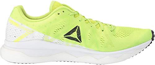 Reebok Men's Floatride Run Fast Shoe, neon Lime/White/Black/red, 10 M US