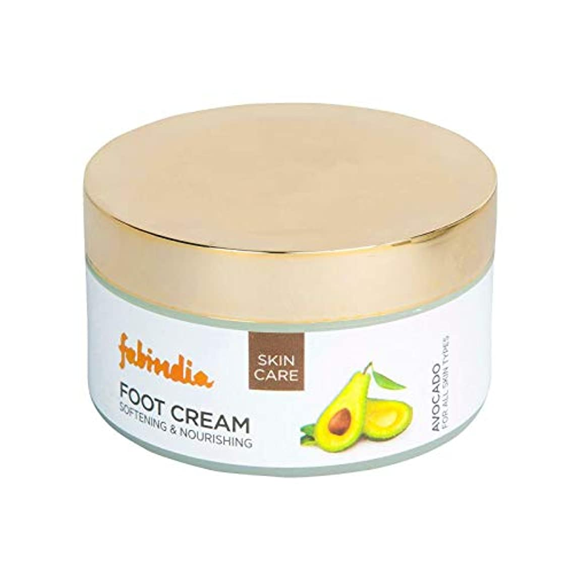 保持する醜い新着Fabindia Avocado Foot Cream 100ml
