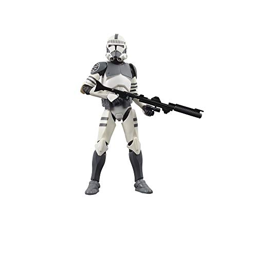 Star Wars The Black Series - Clone Trooper (Kamino) (Action figure 15 cm da collezione, ispirato al film Star Wars: The Clone Wars)