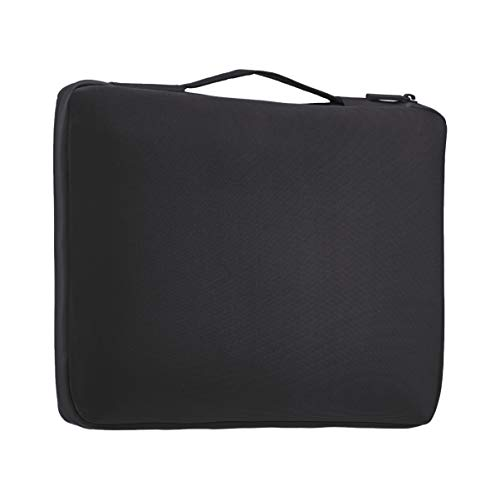 "Amazon Basics 15.6"" Professional Laptop Case Sleeve Bag (With Retractable Handle) - Black"