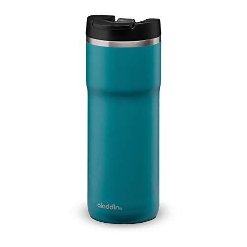 Aladdin Leakproof-Double Wall Vacuum Insulated Cup, Stainless Steel, Blue,...