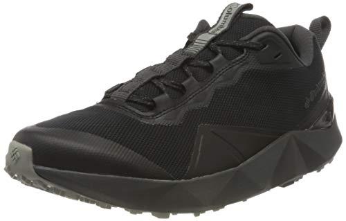 Columbia Facet 15 Zapatillas de senderismo para hombre , 40 2/3 EU, Negro, gris y verde