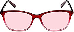 Terramed Audrey rose tinted glasses for migraine