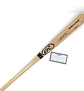 JD Martinez Boston Red Sox Signed Autograph Blonde Baseball Bat Steiner Sports Certified