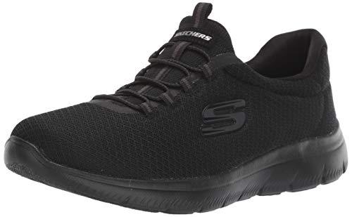 Skechers Damen Schwarz 007 Sneaker, 38 EU