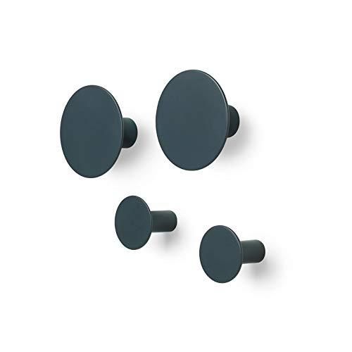 Blomus 65800 - Set di ganci da parete, 4,5 cm