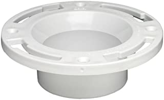 Oatey 43507 Level Fit Closet, 3 in, 0.45 in Flange, PVC, 3 Inch