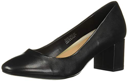 Aerosoles Women's Eye Candy Pump, Black Leather, 7.5 M US