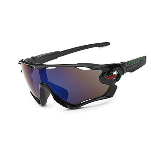 Gafas de bicicleta Las gafas de ciclismo, las gafas de seguridad se pueden usar para ciclismo al aire libre, espejos deportivos a prueba de viento, gafas de sol polarizadas, para ver más cl gafas de b