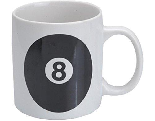CueStix Novedad artículos 8 bola taza de café