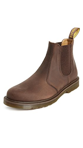 Dr. Martens Men's 2976 Crazy Horse Chelsea Boot, Gaucho, 8 B(M) US Women / 7 D(M) US Men