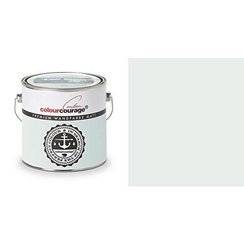 2,5 Liter Colourcourage Premium Wandfarbe Shore Break Pastelltürkies | L719778613 | geruchslos | tropf- und spritzgehemmt