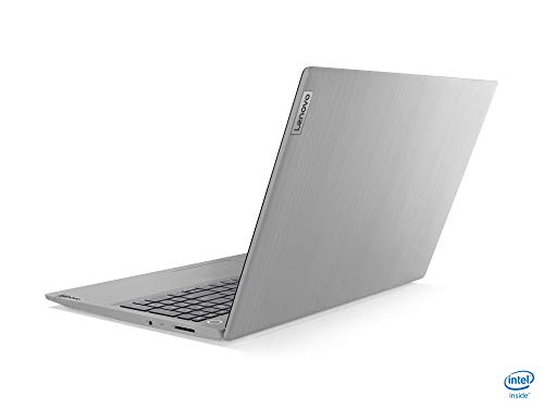 Lenovo IdeaPad 3i 15IIL05 Ordinateur Portable Ultraslim 15.6'' FHD Gris platine (Intel Core i3, RAM 8Go, SSD 256Go, Intel UHD Graphics, Windows 10) - Clavier AZERTY (français)
