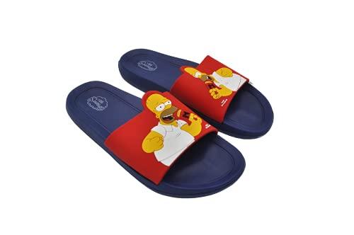 Los Simpsons Homero Sandalias Chanclas Slippers Para Hombre, Homero Simpson con...