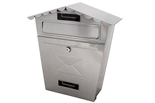 Unbekannt Nostalgie Briefkasten Postkasten KYNAST Exklusiv Grau