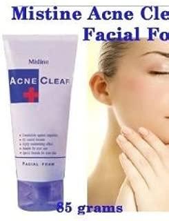 Mistine Acne Scar Clear Oil Blemish Control Facial Foam Face Wash.
