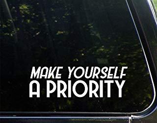 Maak jezelf een prioriteit (8-3/4