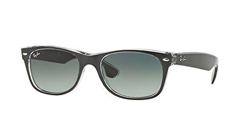 Ray Ban RB2132 New WAYFARER - Gafas de sol para hombre y mujer, color gris oscuro