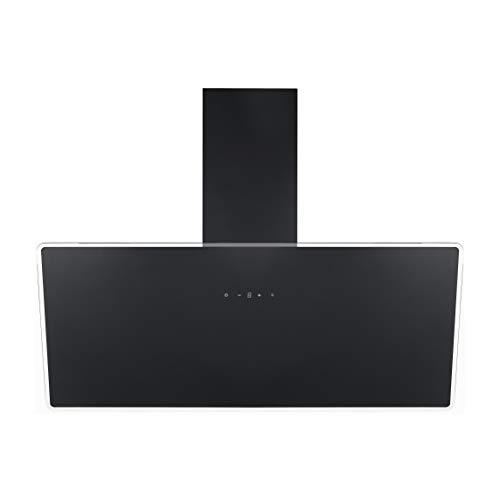 respekta Hotte oblique sans tête - 90 cm - Noir - CH111090SA++ - Classe d'efficacité énergétique : A++