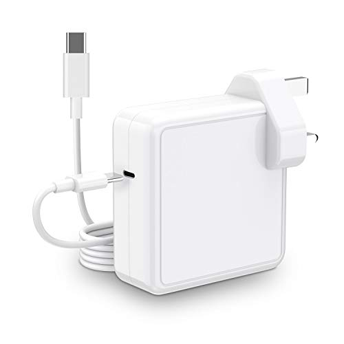 UPWADE 61W Mac Book Pro Charger USB C Power Adapter Mac Book Air Charger, PD Laptop Charger for Mac book Pro 13'/12'/Mac book air 13', Samsung, Lenovo, HP, Most Type C Devices, 6.6ft USB-C Cable