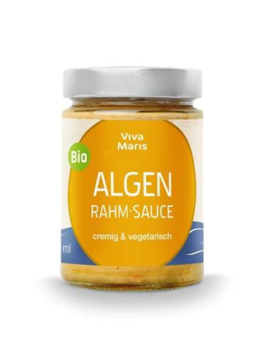 Viva Maris | ALGEN -Rahm-Sauce | 300 ml | vegetarisch | Bio | Pasta Sauce | Algen aus dem hohen Nord-Atlantik