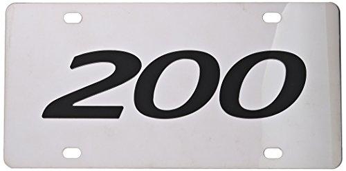 Chrysler 200 License Plate Frame 6492DL