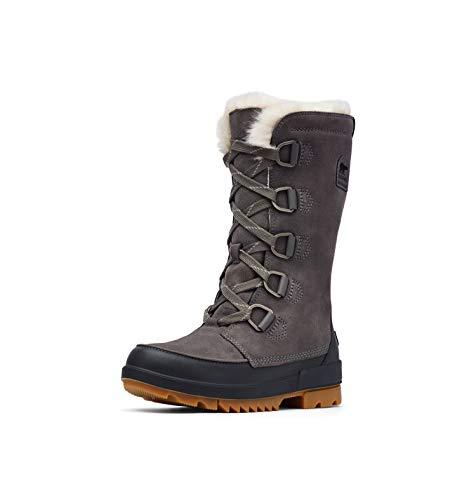 Sorel - Women's Tivoli IV Tall Waterproof Insulated Winter Boot with Faux Fur Collar, Quarry, 7.5 M US
