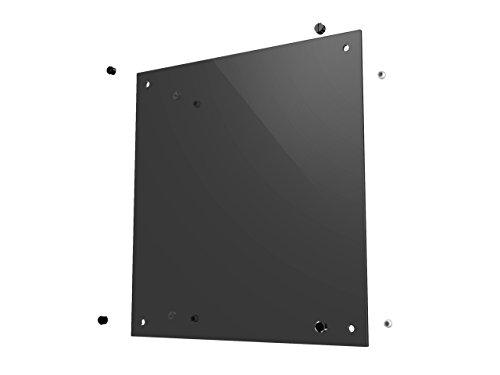 anidees AI Crystal SP Gehartetes Glas Seitenteil fur AI Crystal Serie Rauchig Dunkel