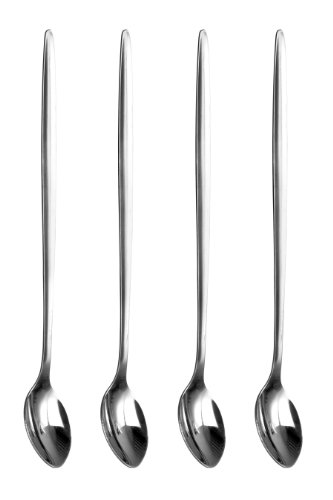 Premier Housewares Latte Spoons, Stainless steel - Set of 4
