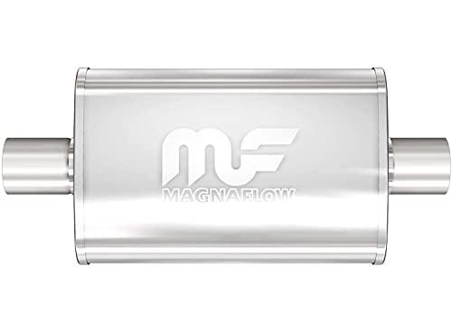 MagnaFlow 4in x 9in Oval Center/Center Performance Muffler Exhaust 11219 -...