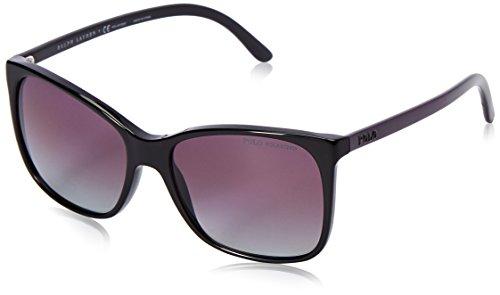 Ralph Lauren Polo 0Ph4094 55178J 55 Gafas de sol, Negro (Black/Polarburdi), Mujer