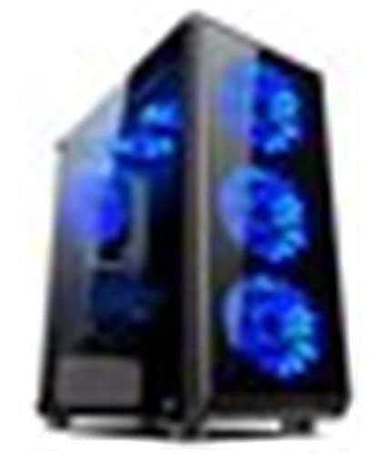 L-link   Torre Gaming Avatar Led Azul   USB 3.0   Caja de PC con 6 Ventiladores Led Incluidos