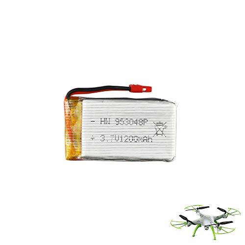 HSP Himoto, batteria aggiuntiva originale da 1200 mAh/3,7 V per quadricotteri Syma X5HC e X5HW