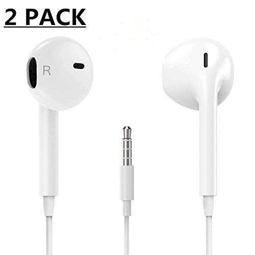 (2 Pack) Aux Headphones/Earphones/Earbuds,VESETA-QILI...
