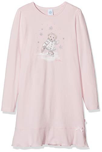 Sanetta Nachthemd Camicia da Notte, Rosa (Magnolie 3609), 92 (Taglia Produttore: 092) Bambina