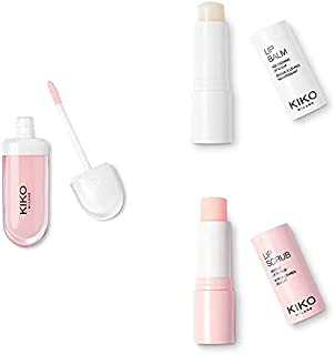 KIKO Milano Lip Volume Tutu Rose + Lip Balm + Lip Scrub