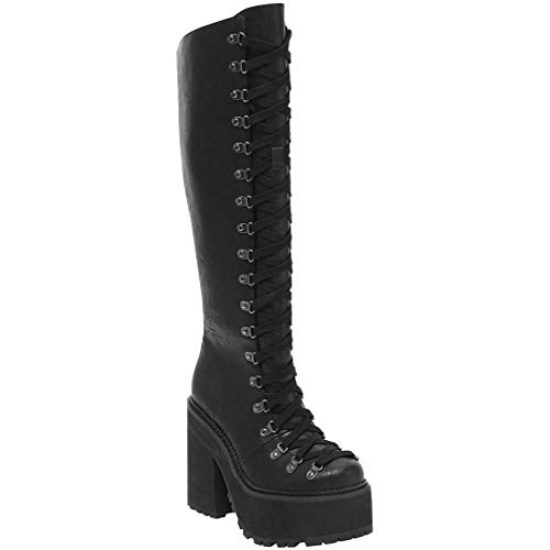 Killstar Plateaustiefel - Bloodletting Knee-High Boots (36)