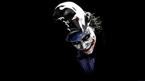 zhuifengshaonian Joker Comics película Joker Lienzo Pintura Carteles e Impresiones Arte de Pared Joaquin Phoenix Imagen para Sala de Estar decoración del hogar(Zt-1286) Sin Marco Poster 40x60cm