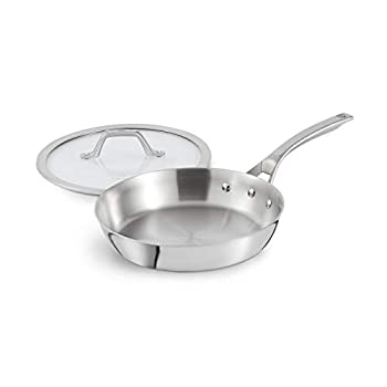 Calphalon Signature Stainless Steel 10-Inch Skillet Pan with Cover