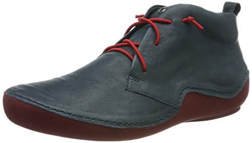 Think! Damen KAPSL_585060 Hohe Sneaker, Blau (Petrol/Kombi 92), 37 EU