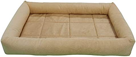 Mellifluous Rectangular Soft Velvet Pad Bed for Dogs & Cats