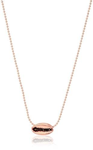 Rebecca Minkoff Mini Lola Rose Gold Pendant Necklace, 14