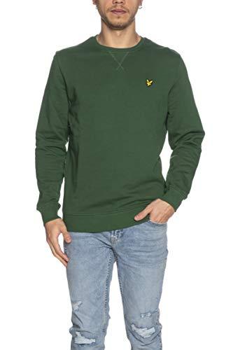 Lyle & Scott Sweatshirt für Herren, Kiefergrün, Grün X-Small