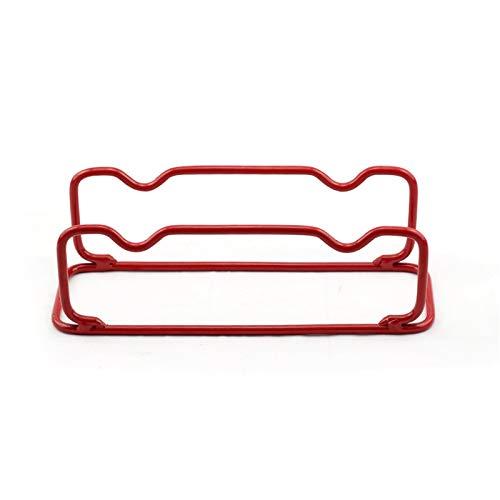 Yuefensu Hantel-Unterstützung Kleine Gewichtheben-Hantel-Rack für 2 Paar-Hantel-Gewichts-Rack (Farbe : Red, Size : 25X11x10CM)