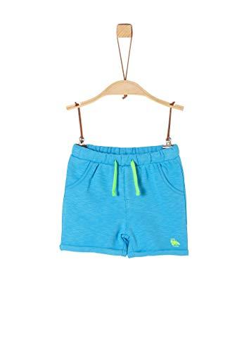 s.Oliver Junior Baby-Jungen 405.10.004.18.183.2038054 Lässige Shorts, 6431 Light Blue, 80
