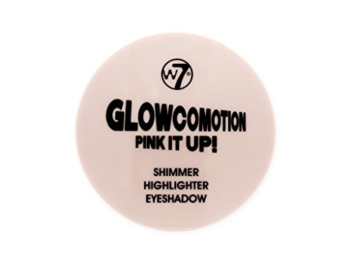 W7 Glowcomotion Shimmer Highlighter Pink it Up, 2er Pack(2 x 8.5 grams)
