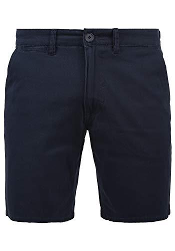 Blend Pierre Herren Chino Shorts Bermuda Kurze Hose mit Stretchanteil, Größe:XL, Farbe:Navy (70230)