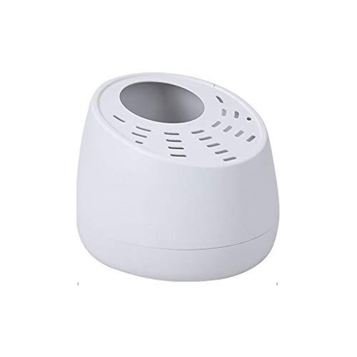 GZQDX Comedero, Mascota hámster Baño Baño Sala Arena Sauna WC con la Pala, de Carga Superior Cerrado WC Desodorante Anti-Salpicaduras de Suministros Robusta